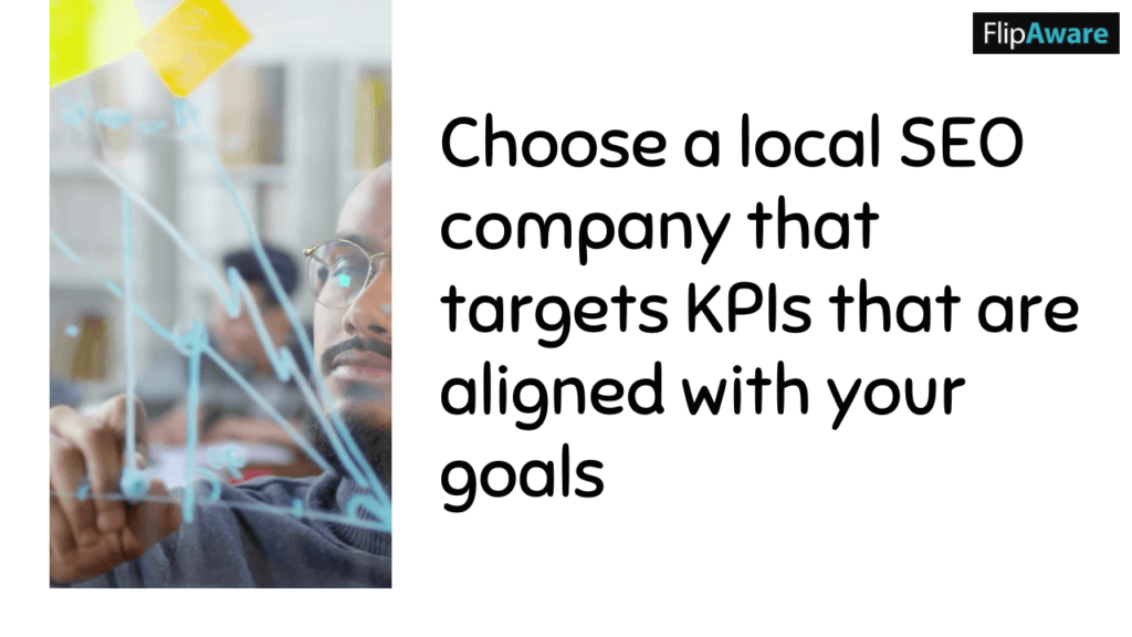 Choose a local SEO company that targets KPIs that are aligned with your goals before you choose an SEO Company in Markham