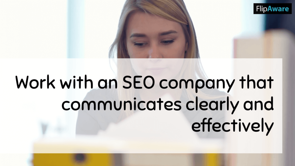 Work with an SEO company that communicates clearly and effectively before you choose an SEO Company in Markham