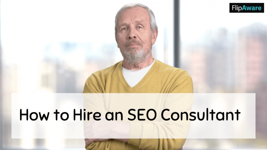 Man thinking about hiring a consultant - Why DIY SEO Isn't a Good Idea For Your Business