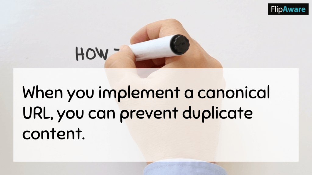 Why Do Canonical Links Matter? when you implement a canonical url, you can prevent duplicate content.